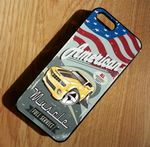 KOOLART AMERICAN MUSCLE CAR NEW CHEVY CAMARO Hard Case For Apple iPhone 5 & 5s